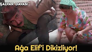 Şalvar Davası - Ağa, Elifi Dikizliyor