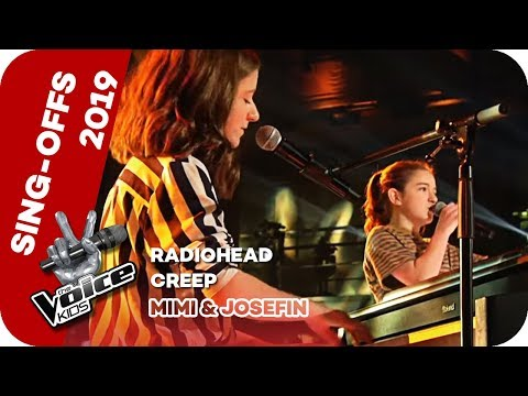 Radiohead - Creep (Mimi & Josefin) | Sing-Offs | The Voice Kids 2019| SAT.1