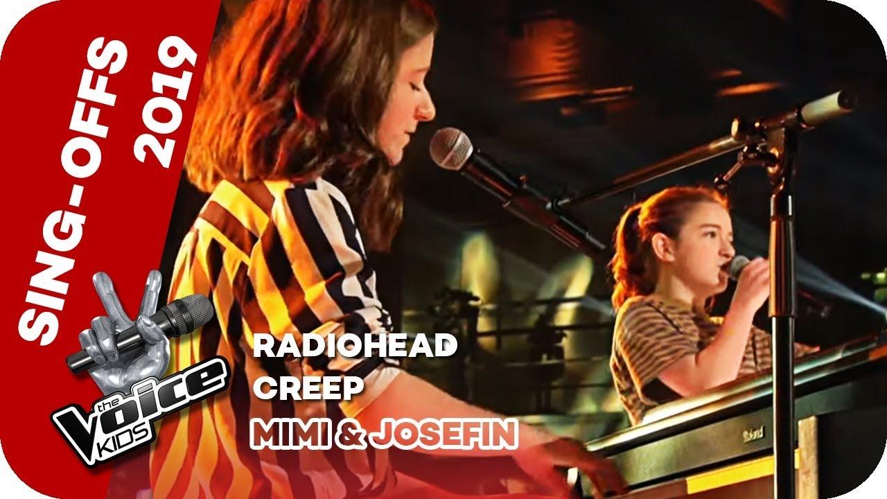 Radiohead Creep Mimi Josefin Sing Offs The Voice Kids 2019 Sat 1 Youtube