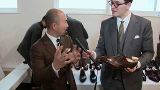 Interview with a bespoke shoemaker Yohei Fukuda / the London Super Trunk Show