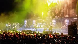 Anthrax - Intro + Caught In A Mosh   Winnipeg, MB May 22, 2018 Bell MTS Centre   MCM