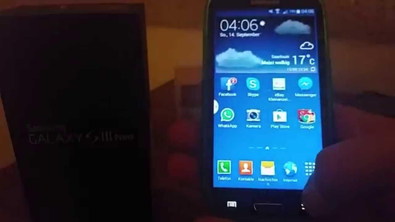 Samsung Galaxy S3 Neo Test