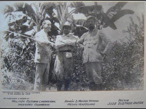 """Homenaje Radial """"La Vorágine, ayer y hoy"""" 1 José Eustasio Rivera"""