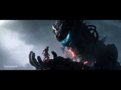 Ready Player One | Mechagodzilla vs Gundam Fight Scene HD