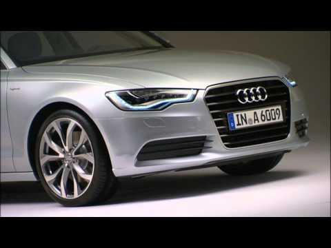 Audi A6 Hybrid footage