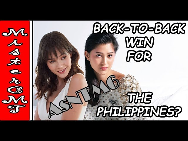 BACK TO BACK WIN FOR THE PHILIPPINES AT THE ASNTM6?