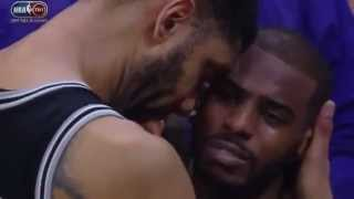 chris paul emotional postgame interview spurs vs clippers after game 7
