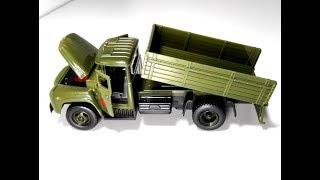 ЗІЛ 130 іграшка військовий борт - 19 см