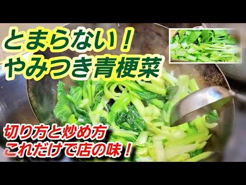 菜 人気 チンゲン レシピ