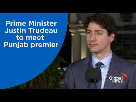 Justin Trudeau to meet Punjab premier who accused Canada of supporting Sikh separatism