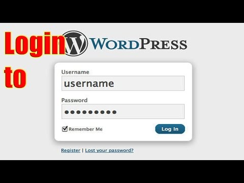 HOW TO FIND YOUR WORDPRESS LOGIN URL FOR WORDPRESS