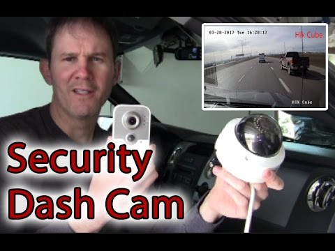 Can A Hikvision Cube Security Camera Be Used As A Dash Cam