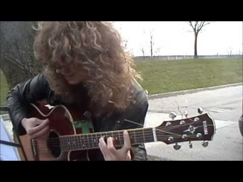 """How to play """"That's the way"""", by Led Zeppelin. *OPEN G* [Tutorial]"""