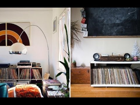 Top 40 Vinyl Record Storage Ideas | DIY IKEA Shed Box Rack Towers Kallax  Divider Roll Holders 2018