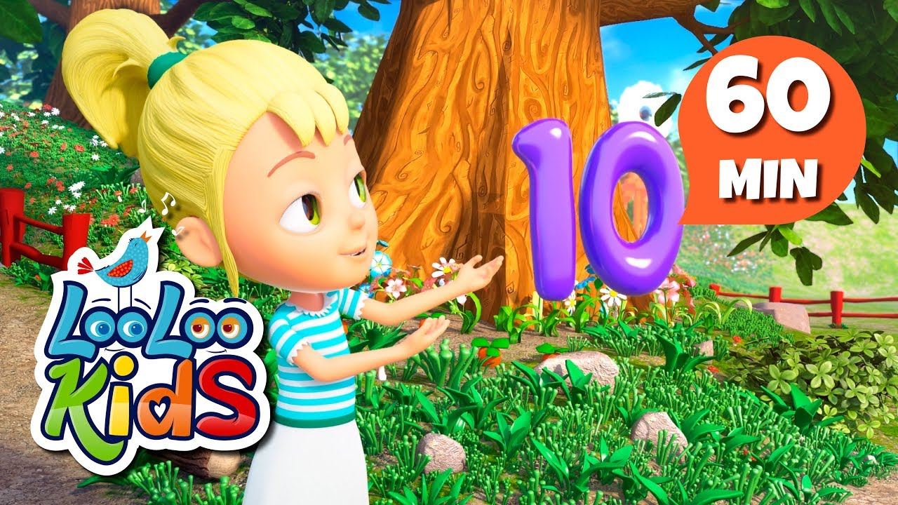 Number Song - Learn English with Songs for Children | LooLoo Kids