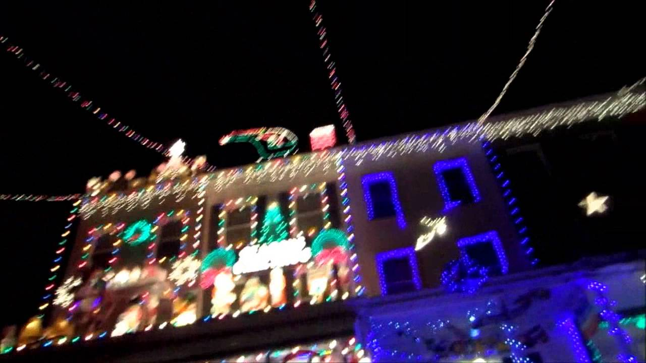 Miracle on 34th Street Christmas Lights || Hampden - Baltimore, MD ...