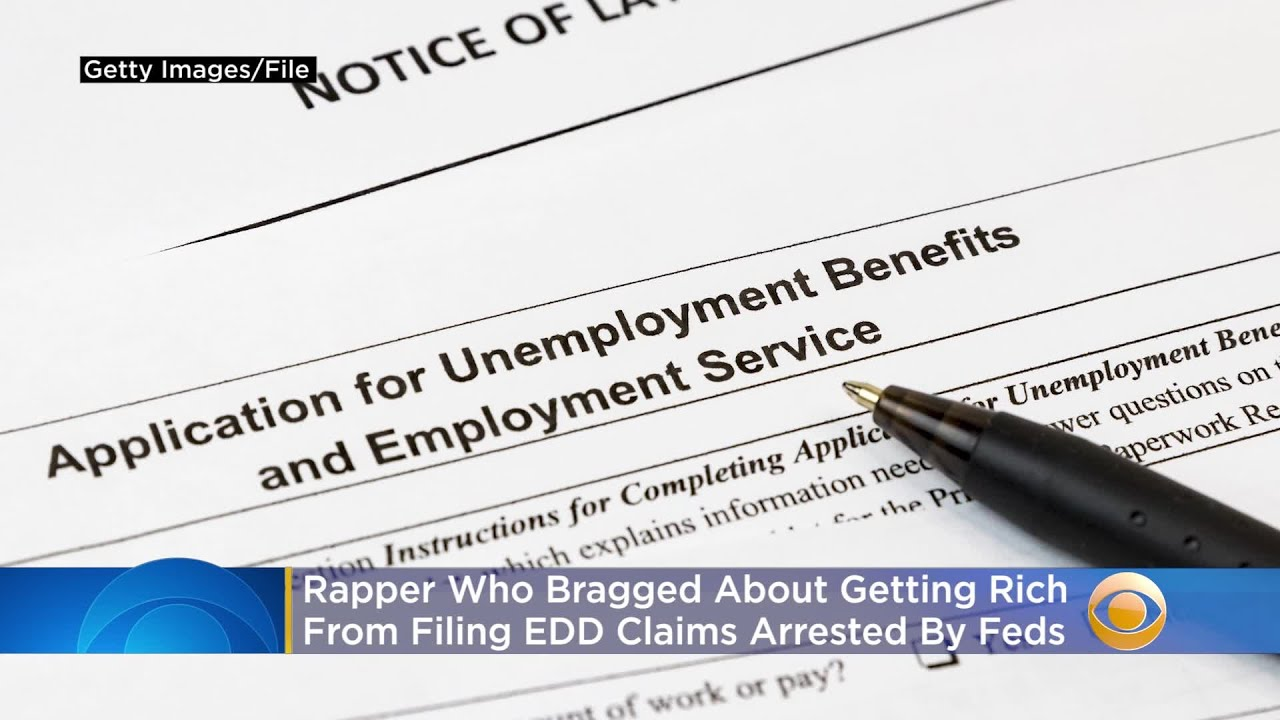 Feds Arrest Rapper Who Bragged About Getting Rich From Filing EDD Claims In Music Video