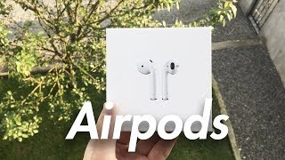 unboxing airpods