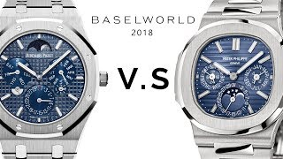 Audemars Piguet vs. Patek Philippe: Royal Oak RD#2 vs. Nautilus 5740/1G