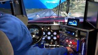 vuclip otro  viaje  en el kenworth t800  euro truck simulator 2  mapa colombia