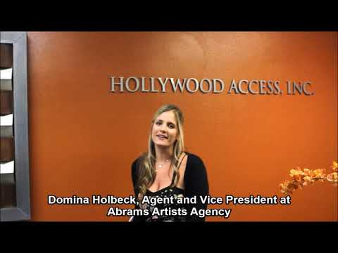 Abrams Artists Agency - DOMINA HOLBECK