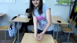 Very elastic girl