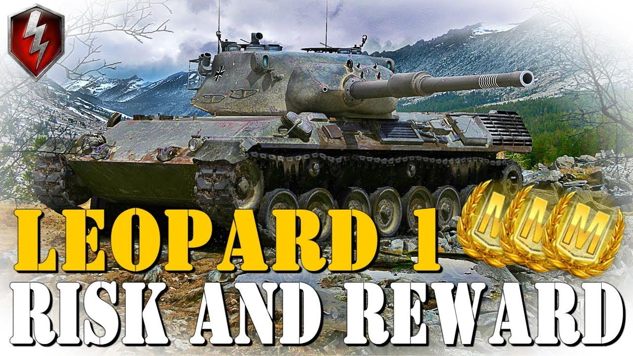 How To Play Leopard 1   WoT Blitz Gameplay [2019]
