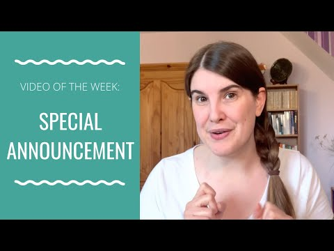 Special Announcement (The one you've been waiting for!)