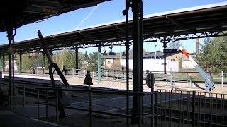 Spoorwegovergang Parchim (D) // Railroad crossing // Bahnübergang