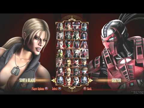 Mortal Kombat 9 - All Fatalities/Finishing Moves/X-Ray