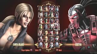 Mortal Kombat 9 - All Fatalities/Finishing Moves/X-Ray