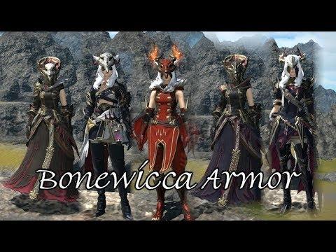 FFXIV: Bonewicca Armor