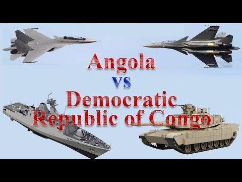Angola vs Democratic Republic of Congo Military Comparison 2017