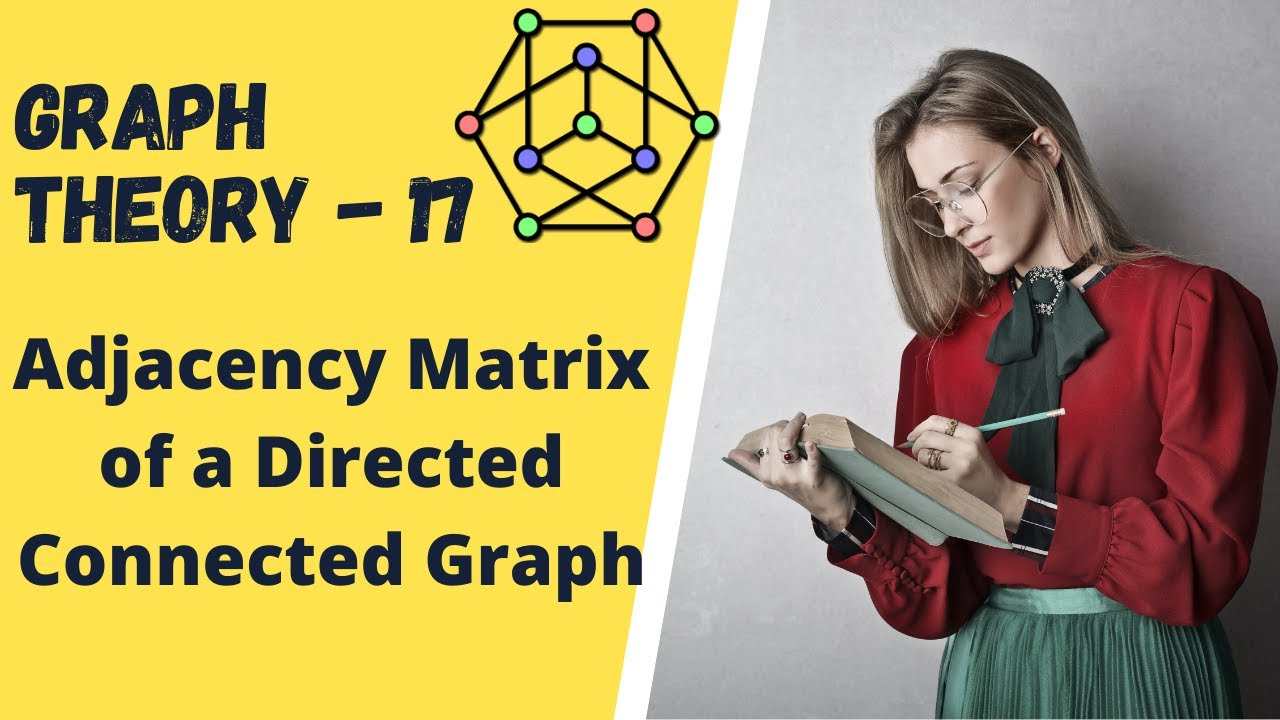 Graph Theory -17 Adjacency Matrix of a Directed Connected Graph - YouTube