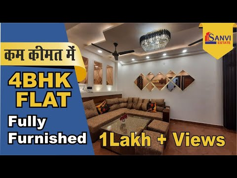4bhk fully furnished society flats builder floors apartments in dwarka for sale - 9711844789