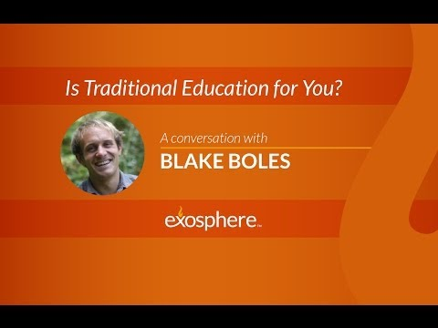 Interview with Blake Boles: Is Traditional Education for You?
