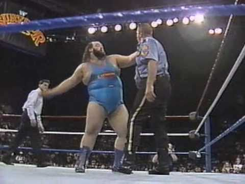Earthquake Vs The Big Boss Man At Survivor Series Showdown 1990