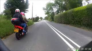 Isle of Man TT Races - Ramsey Hairpin to the Goose neck (the back way)June 2018