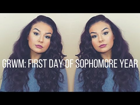 GRWM: First Day Of Sophomore Year |ItsAsmaMousa