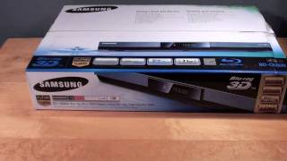 Samsung Wireless 3D Blu-ray Player (BD C6800): Review
