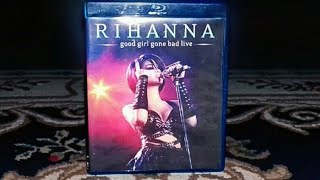 Unboxing Rihanna - Bluray Good Girl Gone Bad Live