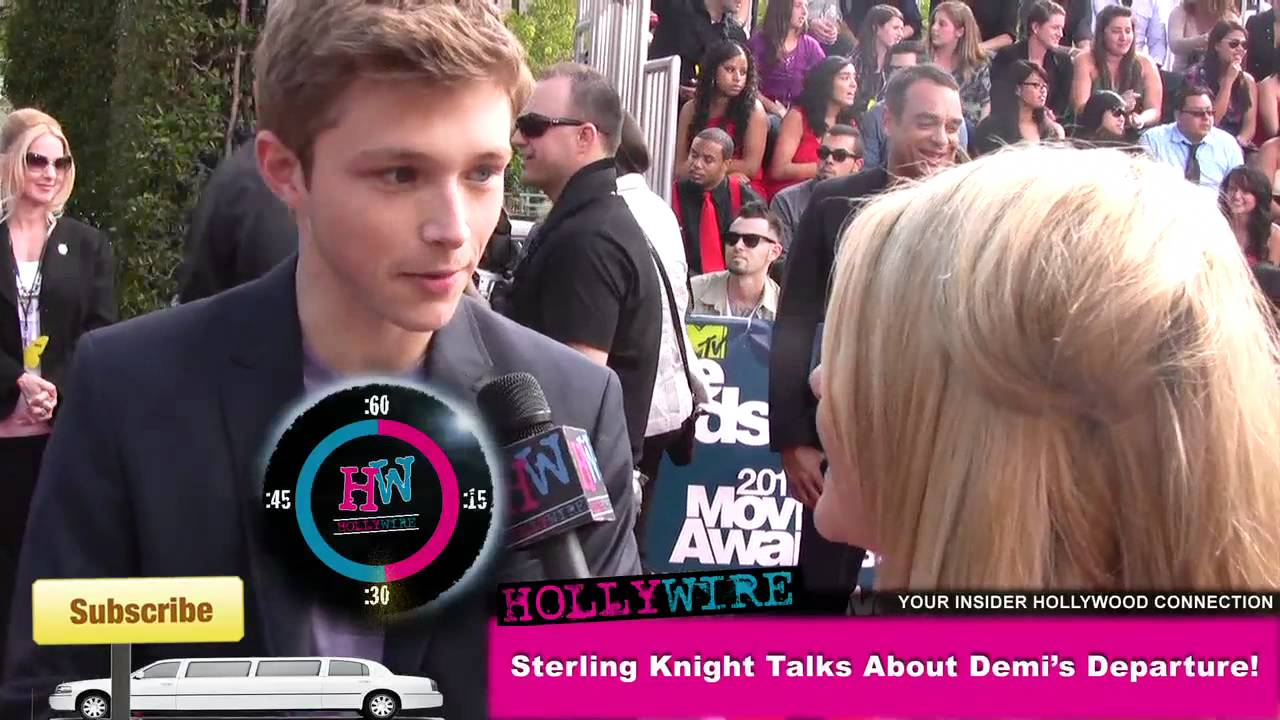 sterling-knight-dating-history