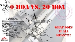 0 MOA vs  20 MOA What Does it All Mean?!?!