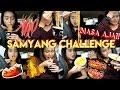 SAMYANG CHALLENGE SAMBIL NGE GOSIP! BIASA AJA! Ft Hestia Melani | Dinda Shafay (Bahasa)