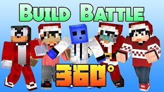 Minecraft 360 Build Battle  /w xXShadowHexXx, awakeDx, Pookie Waffle, Pull_