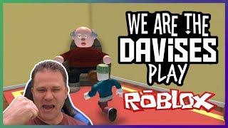 Grandpa'a Parkour Track | Roblox Escape Grandpa's House Obby EP-28 | We Are The Davises Gaming