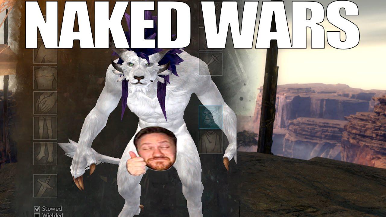Guild wars naked mod