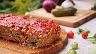 Мясной хлеб с огурцами - Рецепты от Со Вкусом
