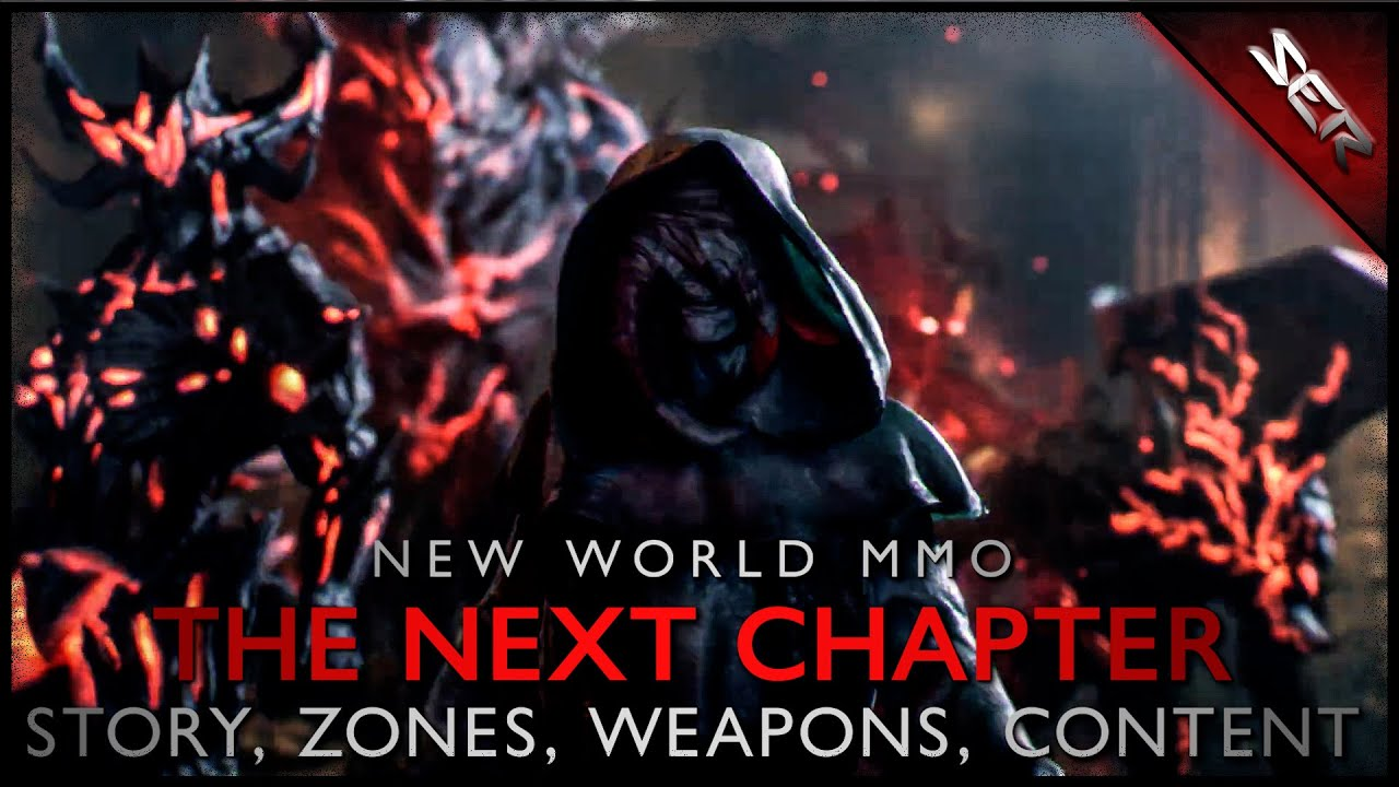 A Peek Into The Next Chapter of Amazon's New World MMORPG (Story, Future Zones, Weapons, Leaks)