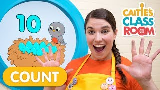 How Many Eggs Do You See? | Caitie's Classroom | Numbers For Kids